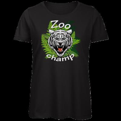 Motiv: Organic Lady T-Shirt - ZoochampLogo