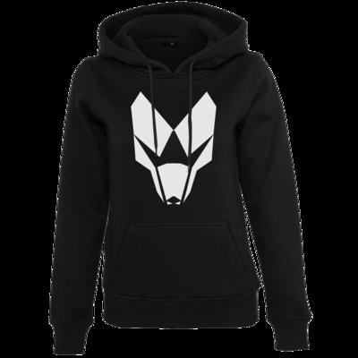 Motiv: Womens Heavy Hoody - BuildMySystem Logo