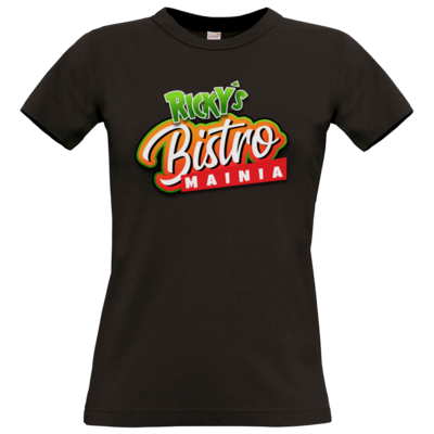 Motiv: T-Shirt Damen Premium FAIR WEAR - Rickys Bistro