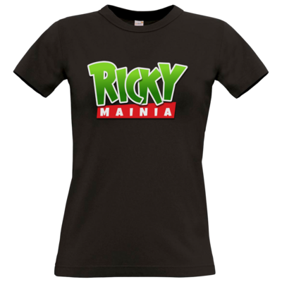 Motiv: T-Shirt Damen Premium FAIR WEAR - Rickymainia Logo