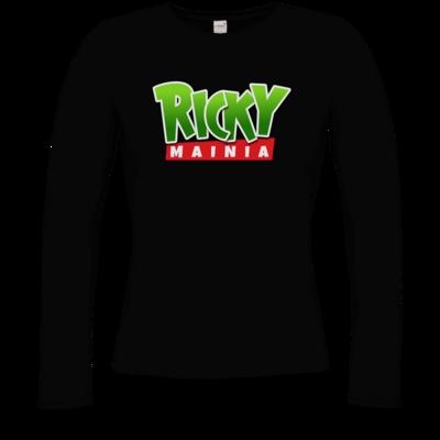 Motiv: Longsleeve Damen Organic - Rickymainia Logo
