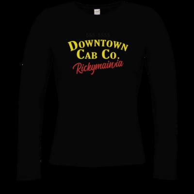 Motiv: Longsleeve Damen Organic - Downtown Cap