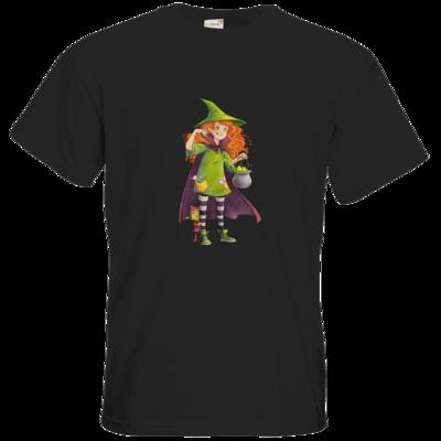 Motiv: T-Shirt Premium FAIR WEAR - Kinderspiele - Zauberei hoch 3