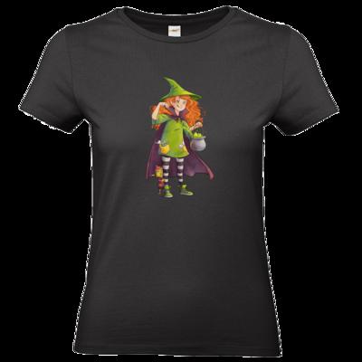 Motiv: T-Shirt Damen Premium FAIR WEAR - Kinderspiele - Zauberei hoch 3