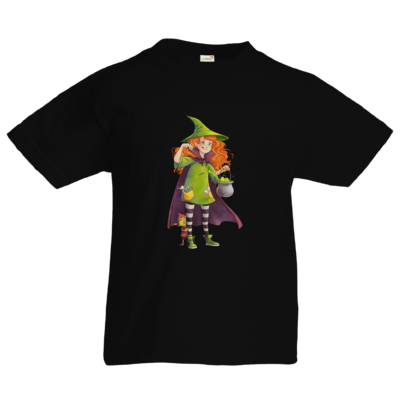 Motiv: Kids T-Shirt Premium FAIR WEAR - Kinderspiele - Zauberei hoch 3