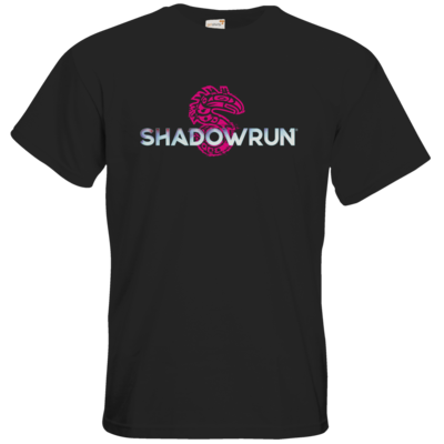 Motiv: T-Shirt Premium FAIR WEAR - Shadowrun (r) Logo