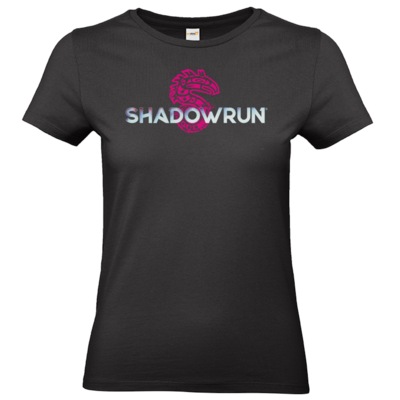 Motiv: T-Shirt Damen Premium FAIR WEAR - Shadowrun (r) Logo