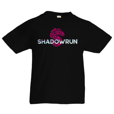 Motiv: Kids T-Shirt Premium FAIR WEAR - Shadowrun (r) Logo