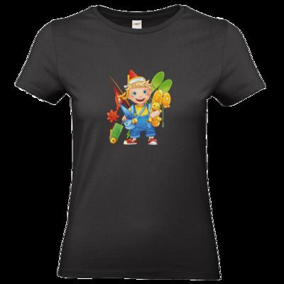 Motiv: T-Shirt Damen Premium FAIR WEAR - Kinderspiele - Timmy