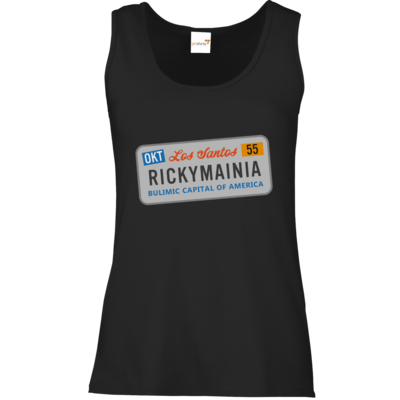 Motiv: Tank Top Damen Classic - Rickymainia Kennzeichen