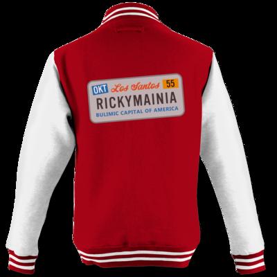 Motiv: College Jacke - Rickymainia Kennzeichen