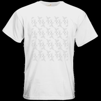 Motiv: T-Shirt Premium FAIR WEAR - Elch - Pattern