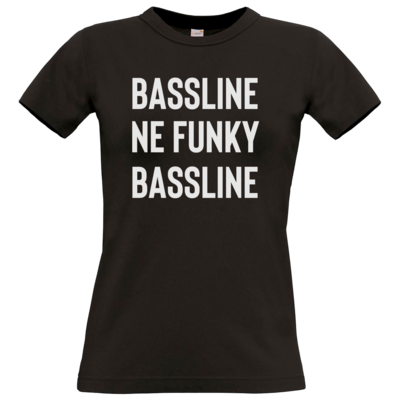 Motiv: T-Shirt Damen Premium FAIR WEAR - Bassline
