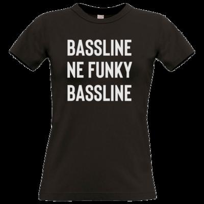Motiv: T-Shirt Damen Premium FAIR WEAR - Bassline