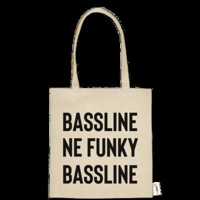 Motiv: Baumwolltasche - Bassline