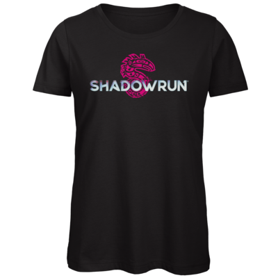 Motiv: Organic Lady T-Shirt - Shadowrun Logo
