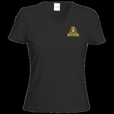 Motiv: T-Shirt Damen V-Neck Classic - goldies