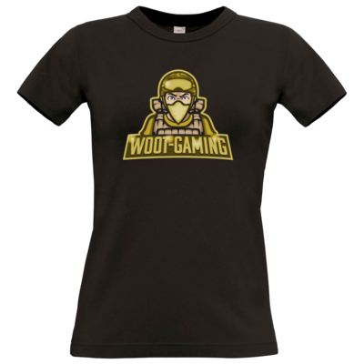Motiv: T-Shirt Damen Premium FAIR WEAR - goldies