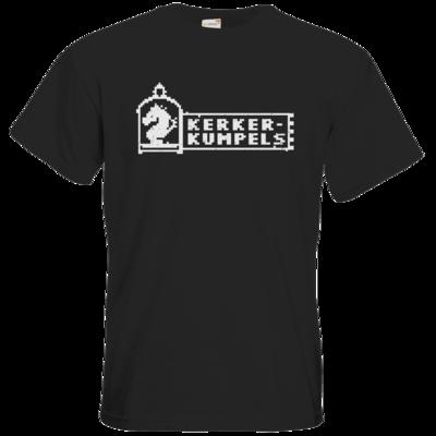 Motiv: T-Shirt Premium FAIR WEAR - Kerkerkumpels Logo S/W
