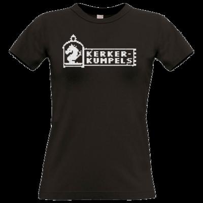 Motiv: T-Shirt Damen Premium FAIR WEAR - Kerkerkumpels Logo S/W
