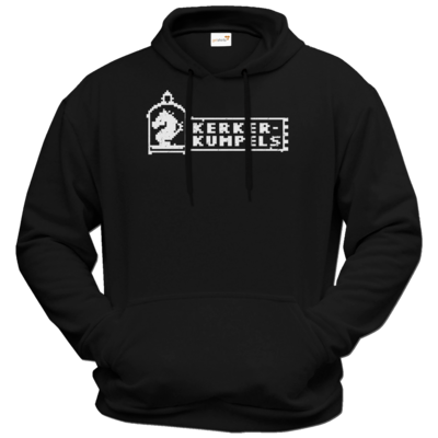 Motiv: Hoodie Premium FAIR WEAR - Kerkerkumpels Logo S/W