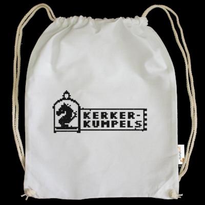 Motiv: Cotton Gymsac - Kerkerkumpels Logo S/W