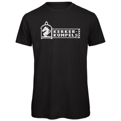 Motiv: Organic T-Shirt - Kerkerkumpels Logo S/W