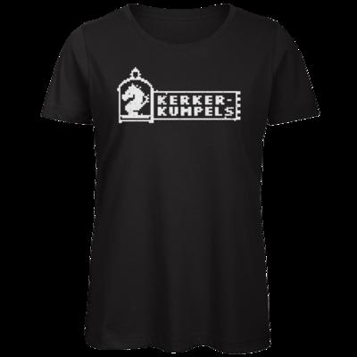 Motiv: Organic Lady T-Shirt - Kerkerkumpels Logo S/W