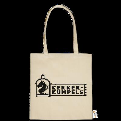 Motiv: Baumwolltasche - Kerkerkumpels Logo S/W