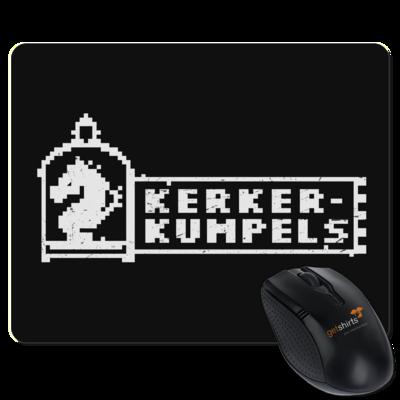 Motiv: Mousepad Textil - Kerkerkumpels Logo S/W