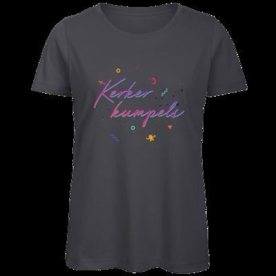 Motiv: Organic Lady T-Shirt - Konfetti-Kumpels