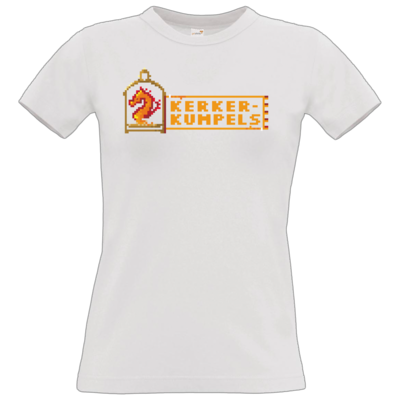 Motiv: T-Shirt Damen Premium FAIR WEAR - Kerkerkumpels Logo (Original)