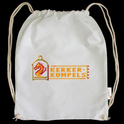 Motiv: Cotton Gymsac - Kerkerkumpels Logo (Original)