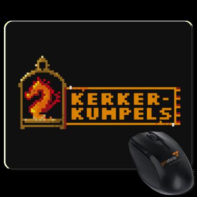 Motiv: Mousepad Textil - Kerkerkumpels Logo (Original)
