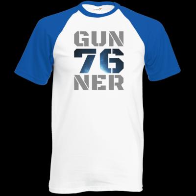 Motiv: TShirt Baseball - Gun76ner Block
