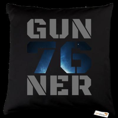 Motiv: Kissen Baumwolle - Gun76ner Block