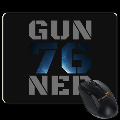 Motiv: Mousepad Textil - Gun76ner Block
