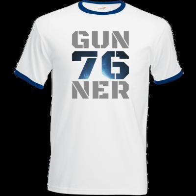 Motiv: T-Shirt Ringer - Gun76ner Block