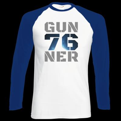 Motiv: Longsleeve Baseball T - Gun76ner Block
