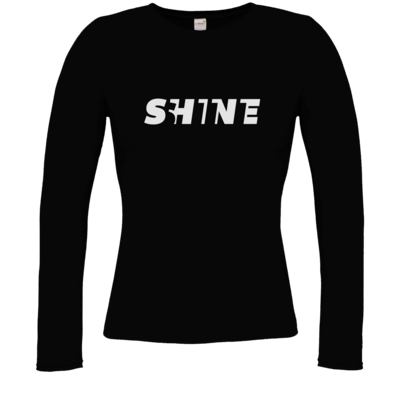 Motiv: Longsleeve Damen Organic - Shine classic