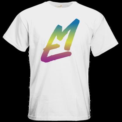 Motiv: T-Shirt Premium FAIR WEAR - EM-Logo-Bunt