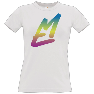 Motiv: T-Shirt Damen Premium FAIR WEAR - EM-Logo-Bunt