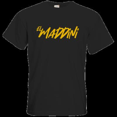 Motiv: T-Shirt Premium FAIR WEAR - Elmaddini-Schriftzug
