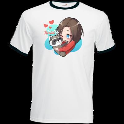 Motiv: T-Shirt Ringer - Hug