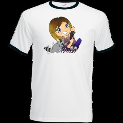 Motiv: T-Shirt Ringer - Avelie - Logo