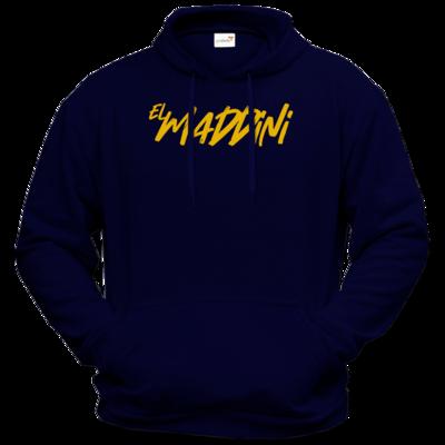 Motiv: Hoodie Premium FAIR WEAR - Elmaddini-Schriftzug