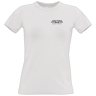 Motiv: T-Shirt Damen Premium FAIR WEAR - Make A Move - Logo