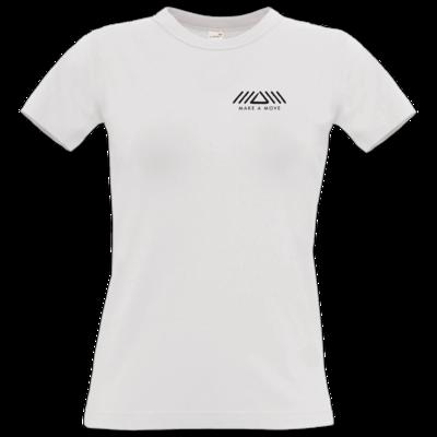 Motiv: T-Shirt Damen Premium FAIR WEAR - Make A Move - Logo