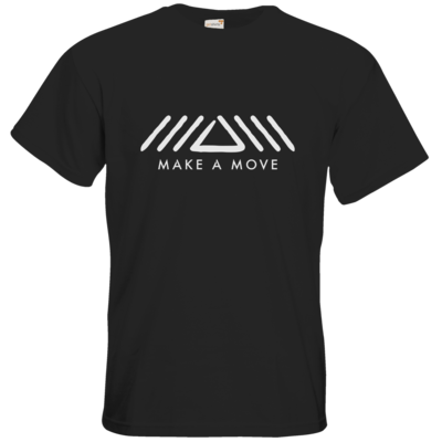 Motiv: T-Shirt Premium FAIR WEAR - Make A Move - Logo (big)