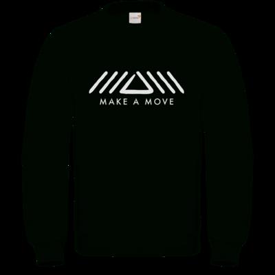 Motiv: Sweatshirt FAIR WEAR - Make A Move - Logo (big)